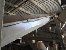 Unnamed elevating auger screw conveyor, approx. 4.5m x 350mm. **A work Method Statement and Risk