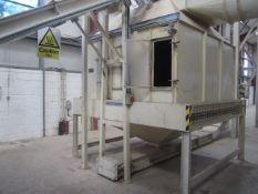 Ledley Engineering 2.5 x 2m slatted cooling chamber with release silo. **A work Method Statement and