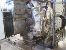 Andritz Sprout PM30 pellet mill, ID no. 131480338/212, spec no. C-63-802463 (2008), mounted on stand