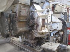 Sprout Matador PM30 pellet mill, mounted on stand with control panel, ID no. 035882, spec no.
