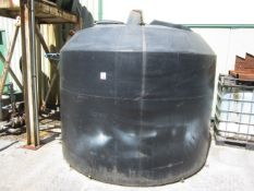 Flextank 2000 gallon plastic fuel tank. **A work Method Statement and Risk Assessment must be