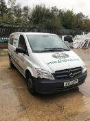 Mercedes Vito 113 Cdi SWB van, registration AY13 OTP, DOR 29.3.2013, mileage 164,441, V5 present...