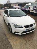 Seat Leon Ecomotive estate 1.6D, registration WO64 MOF, DOR 30.1.2015, mileage 86,891, V5 present...