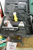 Sparky Professional FSPE 85 110v jigsaw (2005), with case (please note: This lot is located at the