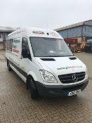 Mercedes Sprinter 313 Cdi van, registration KS12 RWU mileage 138,115, V5 Present, 1 x key MOT...