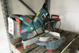 """Erbauer ERB239MSW 10"""" double bevel mitre saw, 240v (please note: This lot is located at the"""