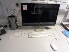 Apple Mac Pro computer system, keyboard, mouse
