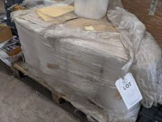 Four pallets of assorted Poly wrap