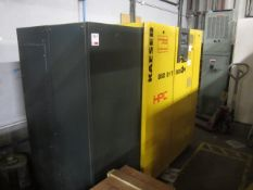 Kaeser HPC BSD 81T Sigma packaged air compressor, serial no. 1141 (2008), max work pressure 8.0 bar,