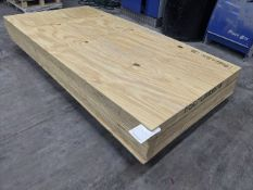 19 sheets of 8ft x 4ft plywood sheets