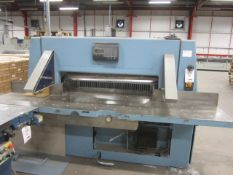 Wohlenberg 115 paper guillotine with air table, serial no. 3217-032, 3135.00.8012-00, max cut