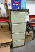 4-drawer steel filing cabinet