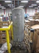 Siap vertical air receiver, 11 bar (2005), capacity 250 litres (Please note: A work Method Statement