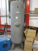 Vessel Technology Ltd vertical air receiver, serial no. C112799, capacity 490 litres (Please note: