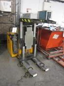 Diesse Toppy battery operated pedestrian pile turner, capacity 1000kg, serial no. 26110 (2001),
