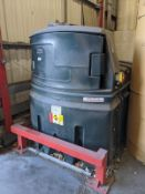 Titan DS2500 bunded diesel fuel tank with vehicle fuel dispenser (Please note: A work Method...