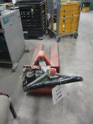 Howard Handley battery operated pallet truck, plant no. 01586 - battery cover missing