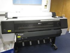 Epson Stylus Pro 9890 plotter spectroproofer, model K162A, serial no. N7JE006746 (2013)