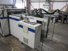 Steinman Colibri-74 coating machine, sno 305.152 (2006), Belt width 750mm, Touch screen control