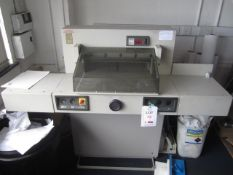 Ideal 5221A manual operated paper guillotine, service 52218178, blade width 520mm (Please note: A