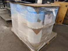 Pallet of 14 reels of 390mm, 25.00mu Poly wrap