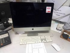 Apple Mac computer system, keyboard, mouse