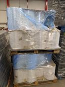 Three pallets of assorted Poly wrap