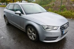 Audi A3 Sport Tdi, 1968cc diesel, 147bhp 6 speed manual hatchback. Registration: VA14 UJH.