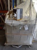 Pallet of 24 boxes of 4 x 400mm x 600m safestretch clear hand stretch wrap