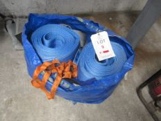 Quantity of assorted lifting straps, The purchaser must ensure a Thorough Examination is carried
