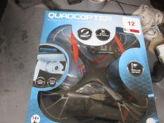 Quadcopter with integrated camera, built-in Gyro sensor, Altitude sensor, 360°