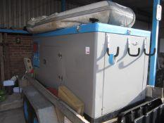 Himoinsa Macron Power canopy Yanmar diesel generator, model HYW-45 T5 INS 50Hz-400/203v MS, serial