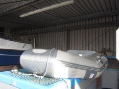 Seago 2305L inflatable dinghy, CN-sea, serial no. 00105H818 (slight leak, but useable), pump, oar