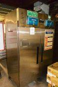 Apollo stainless steel AgnRu2 commercial refrigerator, refrigerant R134A, serial no. AGNRU2