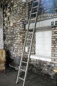 Aluminium 14-tread step ladder