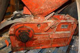 Bamford steel frame mill, with hopper