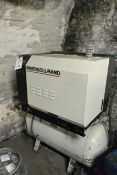 Ingersoll Rand packaged air compressor, model MLII, serial no. 2161952, 2.5 bar, 3 phase
