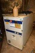 Industrial Cooling TAE twin fan industrial chiller unit (currently disconnected, working condition