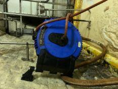 Wall mounted hose reel