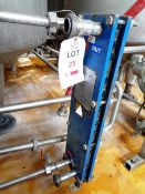 UK Exchangers S8A-IT 11 plates plated heat exchanger, serial no. 06096 (2006), design pressure 6