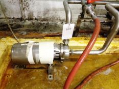 "APV Puma 1½ - 2"" diaphragm pump, serial no. A4720"