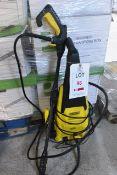 Draper 240v pressure washer