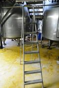 Aluminium 7 tread A frame step ladder