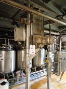Unnamed motorised fan malt suction feed from malt mill to mash tank