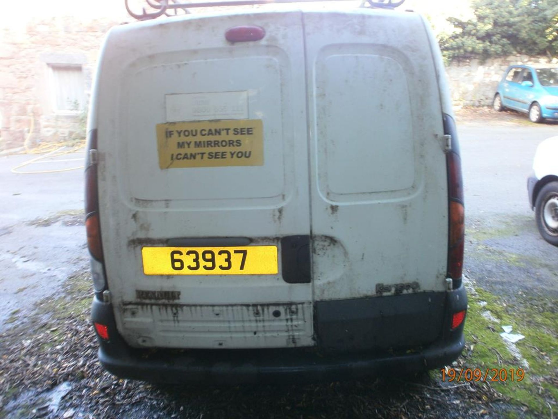 Lot 27 - Renault Kangoo 1.4D Van