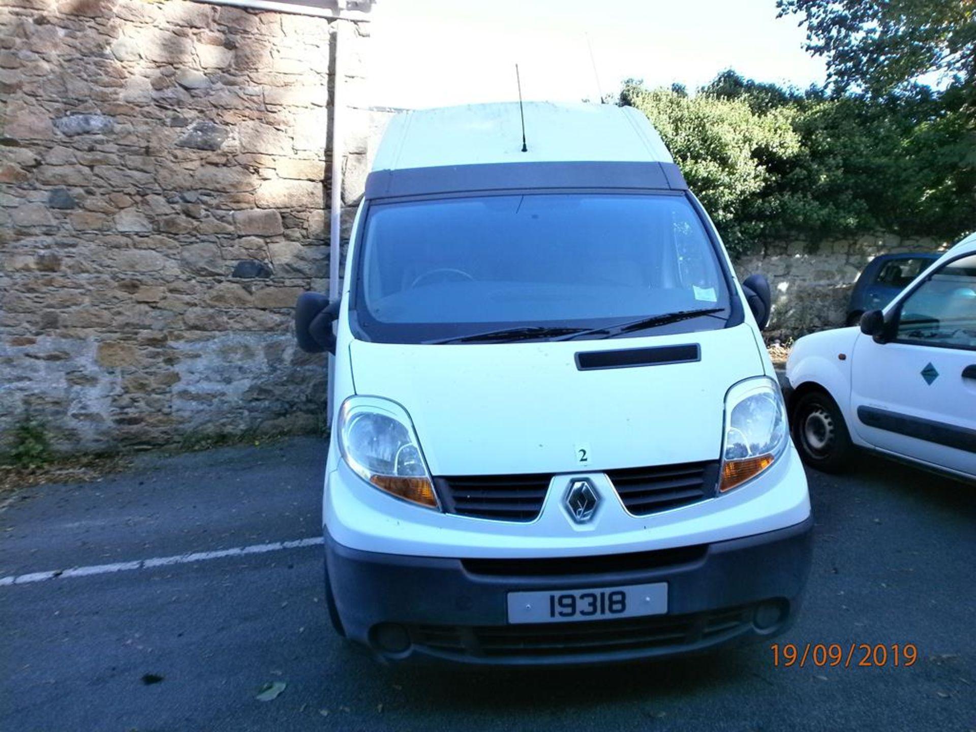 Lot 2 - Renault Trafic Hi-Roof Panel Van