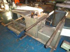Wadkin 12B9P577565 Panel Saw