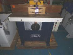 A Sedgwick SM4 Spindle Moulder with Tenon Slide Table