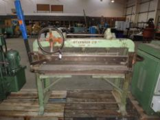 Interwood 1200 Hand Guillotine