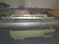 An SCM Sliding Table Panel Saw